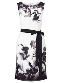 Petite Shadow Floral Dress