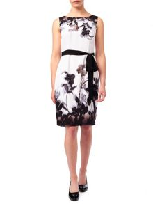 Jacques Vert Petite Shadow Floral Dress