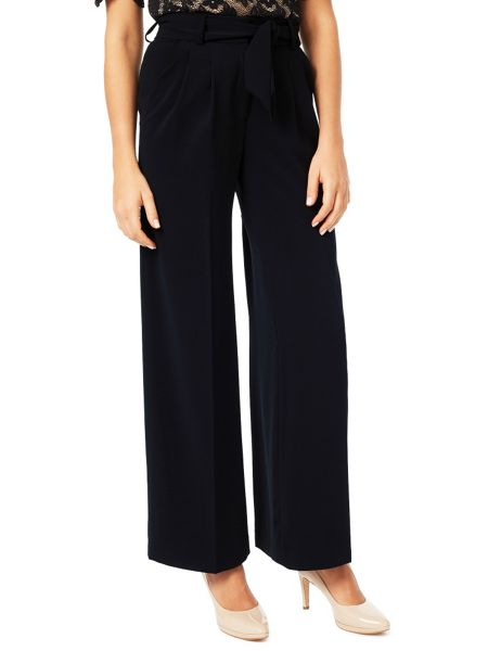 Jacques Vert Pleat Wide Leg Trouser