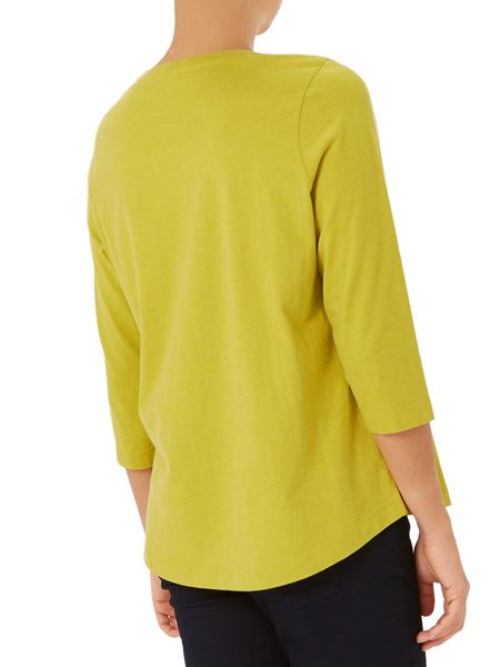 Dash Peached Chartreuse Top