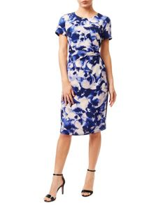 Precis Petite Soft Petal Shift Dress