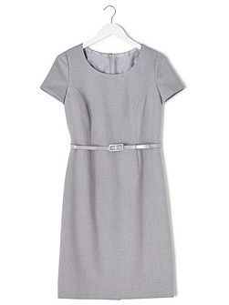 Eliza Tailored Shift Dress
