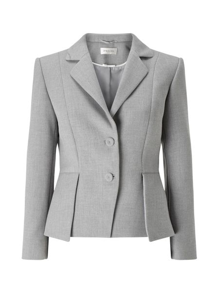 Precis Petite Eliza Peplum Tailored Jacket