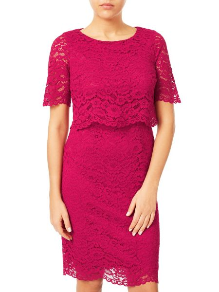 Jacques Vert Floating Bodice Lace Dress