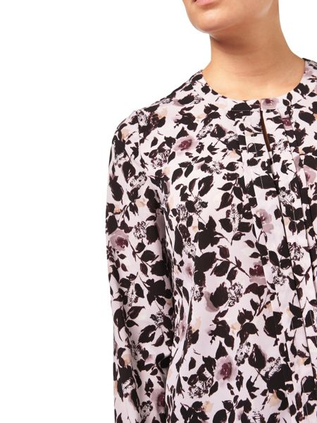 Eastex Winterbourne Rose Print Blouse