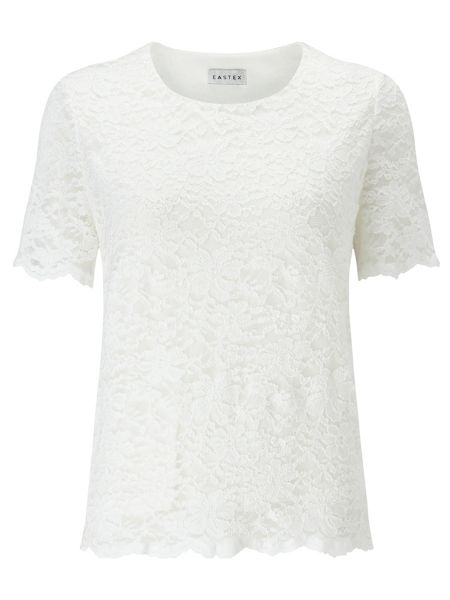 Eastex Ivory Lace Top