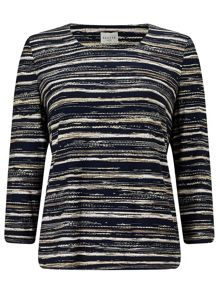 Eastex Meadow Grain Stripe Top