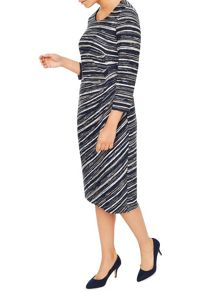 Eastex Meadow Grain Stripe Dress