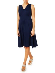 Jacques Vert Jersey Flippy Dress