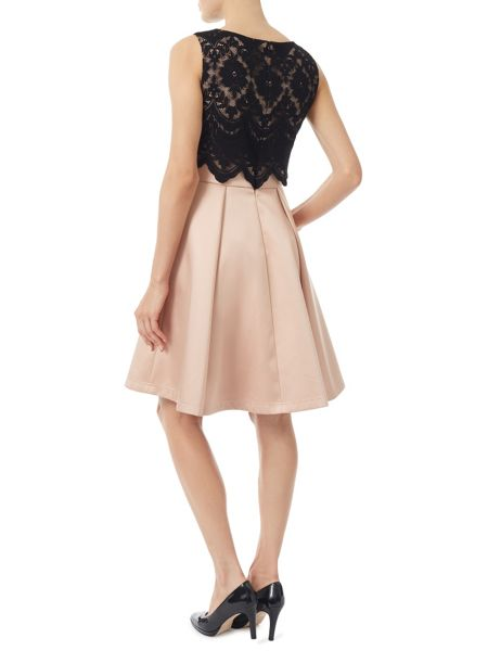 Jacques Vert Lace Bodice Prom