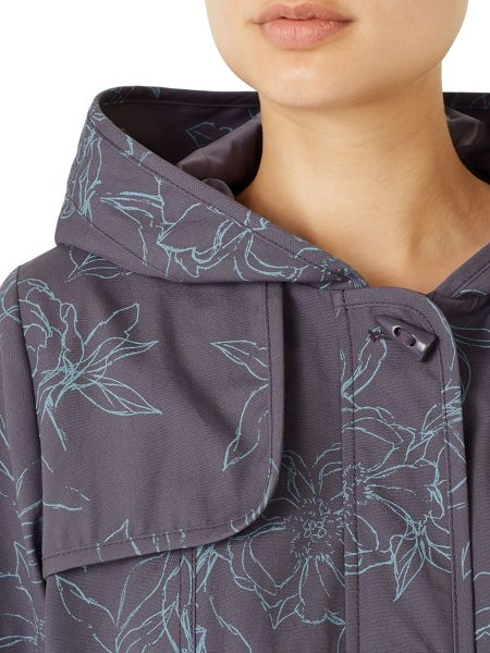 Dash Sproof Print Parka