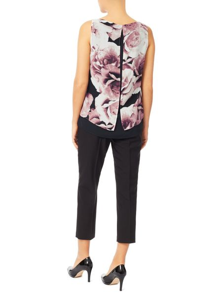 Jacques Vert Printed Layer Blouse