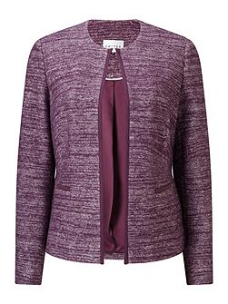 Two Tone Knitted Jacket
