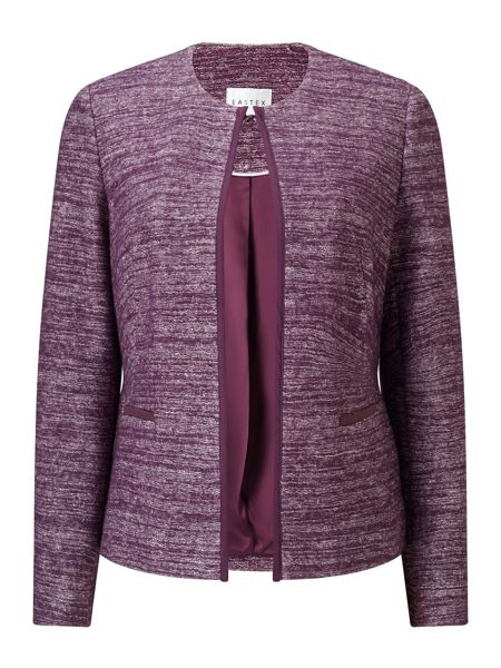 Eastex Two Tone Knitted Jacket