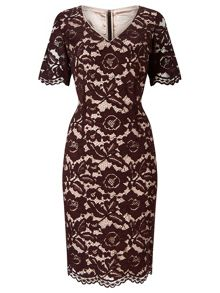 Jacques Vert Opulent Lace Dress