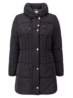 Mid Length Puffer Jacket