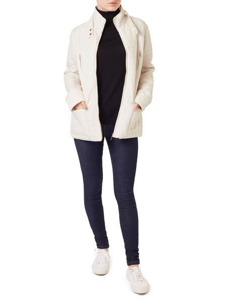 Precis Petite Evie Funnel Neck Short Jacket