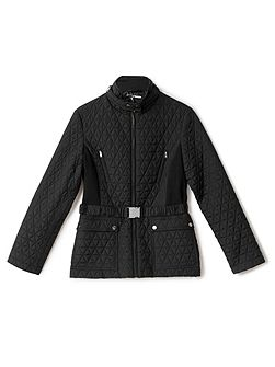 Rhiannon Quilted Short Jacket
