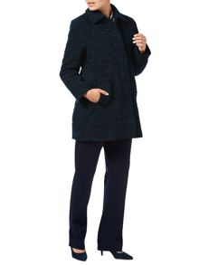 Eastex Boucle Wool Coat