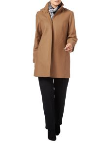 Eastex Buckle Neck Wool Coat