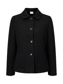 Eastex Textured Button Up Jacket