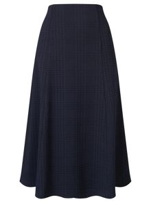 Eastex Check Ponte Skirt