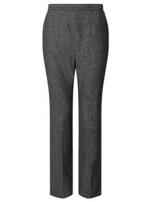 Eastex Charcoal Melange Wool Trouser
