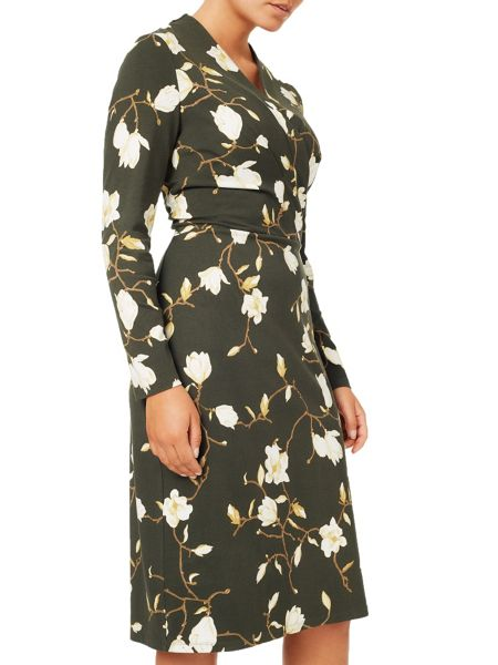 Eastex Magnolia Print Dress