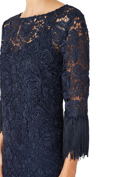 Jacques Vert TASSLE LACE DRESS