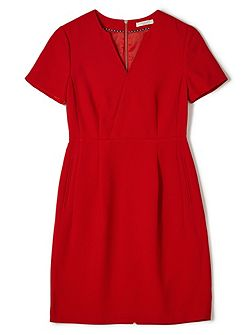 Jeff Banks Red Notch Dress
