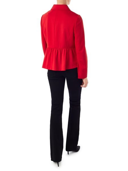 Precis Petite Jeff Banks Red Peplum Jacket