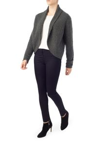 Precis Petite Jeff Banks Charcoal Shrug