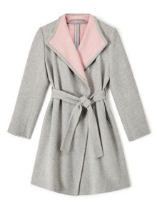 Precis Petite Jeff Banks Wrap Coat