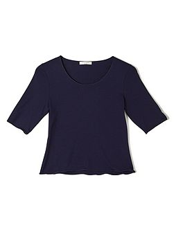 Jeff Banks Indigo Jersey Top