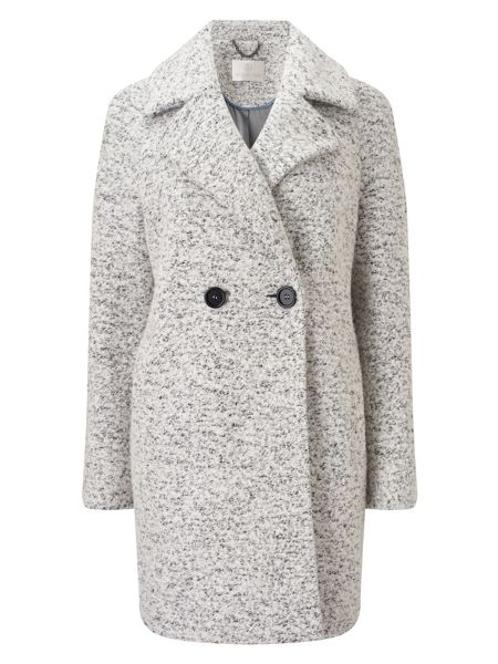 Jacques Vert Oversized Textured Db Coat