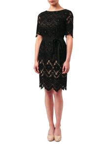 Jacques Vert Petite Layer Lace Dress