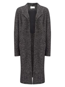 Jacques Vert EDGE TO EDGE TEXTURED COAT