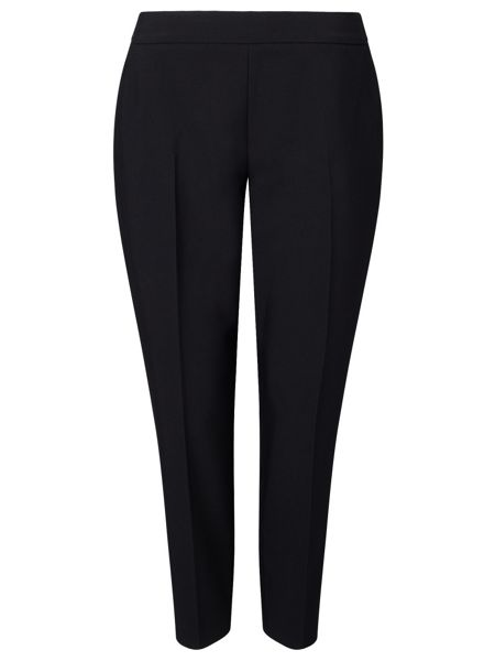 Jacques Vert Black Pin Tuck Trousers