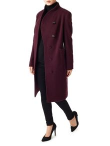 Precis Petite Avery Funnel Neck Long Coat