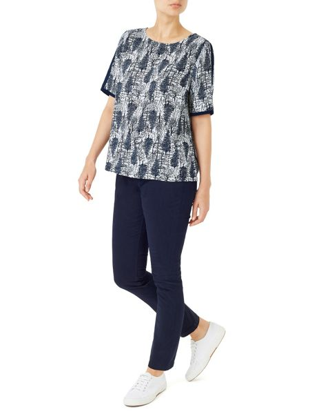 Dash Pinewood Printed Blouse