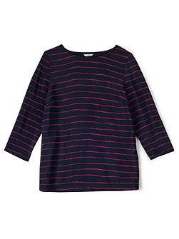 Painted Stripe Woven Top