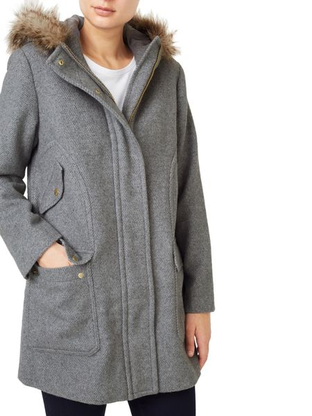 Dash Luxury Wool Hood Parka