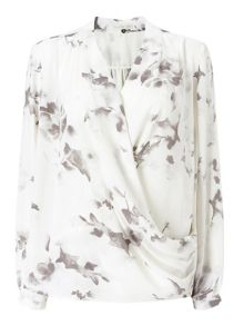 Jacques Vert Marble Floral Overshirt