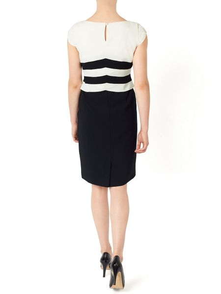 Jacques Vert Petite Scallop Dress