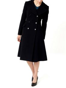 Jacques Vert Petite Fit And Flare Coat