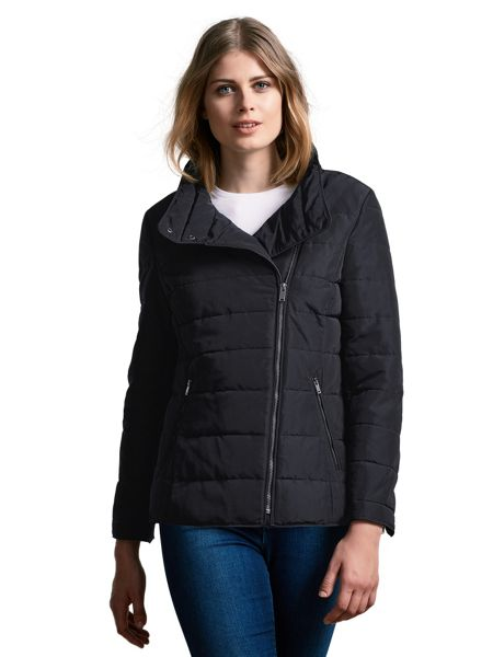 Windsmoor Asymmetric Short Quilt Jacket