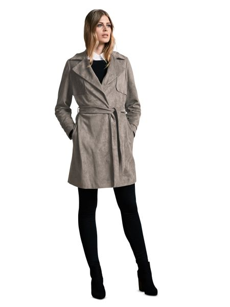 Windsmoor Suedette Trench Coat