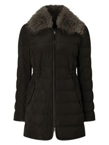 Windsmoor Pu Trim Collar Down Coat