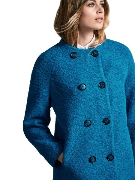 Windsmoor Boucle Wool Coat