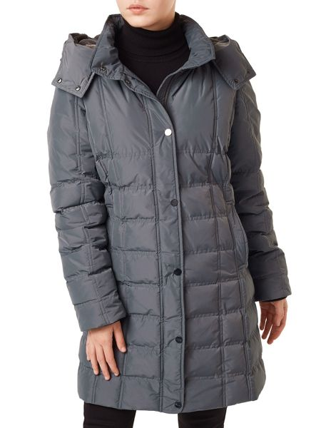 Precis Petite Amber Quilted Hooded Coat